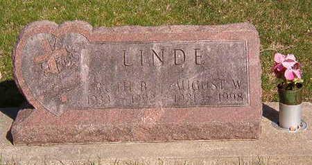 LINDE, AUGUST W. - Black Hawk County, Iowa   AUGUST W. LINDE