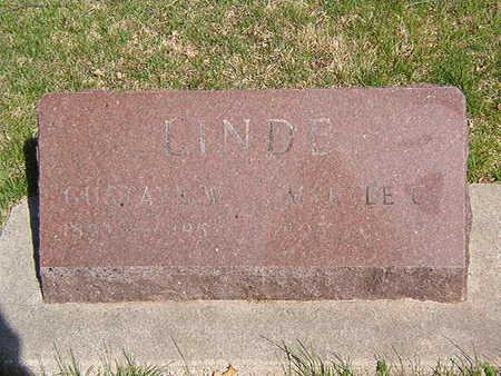 LINDE, GUSTAVE W. - Black Hawk County, Iowa   GUSTAVE W. LINDE