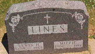 LINES, LEWIS H. - Black Hawk County, Iowa | LEWIS H. LINES