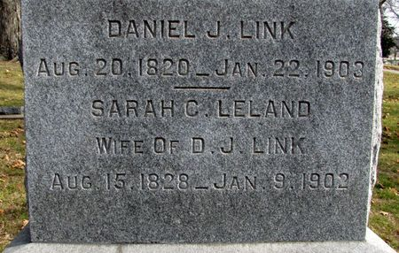 LINK, DANIEL J. - Black Hawk County, Iowa | DANIEL J. LINK