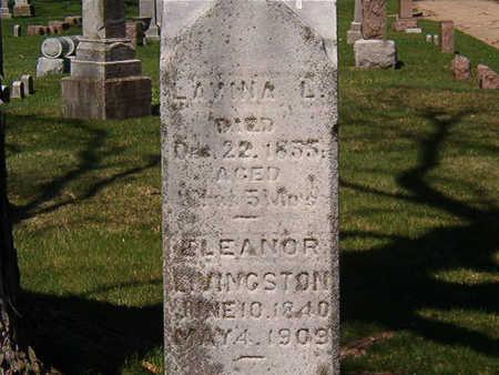 LIVINGSTON, ELEANOR LANAH - Black Hawk County, Iowa | ELEANOR LANAH LIVINGSTON