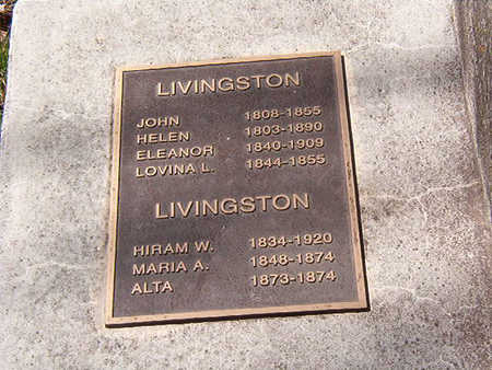 LIVINGSTON, FAMILY - Black Hawk County, Iowa | FAMILY LIVINGSTON