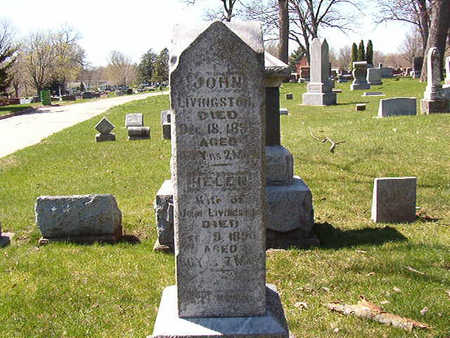 LIVINGSTON, JOHN H. - Black Hawk County, Iowa   JOHN H. LIVINGSTON