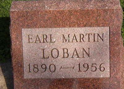 LOBAN, EARL MARTIN - Black Hawk County, Iowa | EARL MARTIN LOBAN