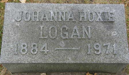 HOXIE LOGAN, JOHANNA - Black Hawk County, Iowa | JOHANNA HOXIE LOGAN