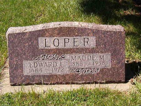 LOPER, EDWARD L. - Black Hawk County, Iowa | EDWARD L. LOPER