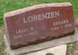 LORENZEN, LELIA - Black Hawk County, Iowa | LELIA LORENZEN