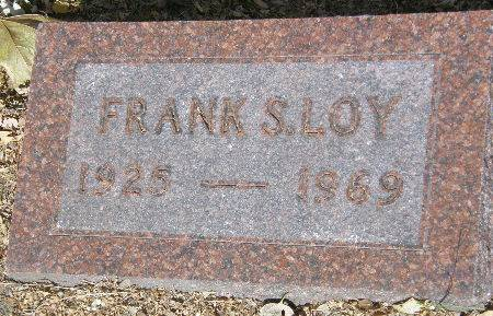 LOY, FRANK S. - Black Hawk County, Iowa | FRANK S. LOY