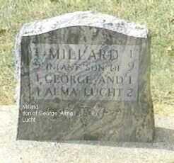 LUCHT, MILLARD - Black Hawk County, Iowa | MILLARD LUCHT