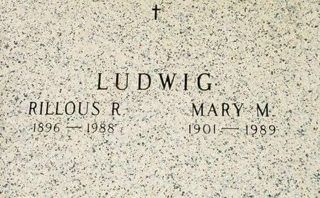 LUDWIG, RILLOUS R. - Black Hawk County, Iowa | RILLOUS R. LUDWIG