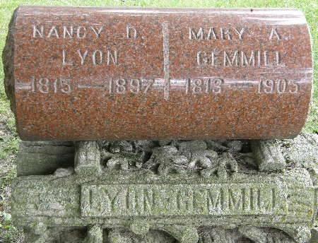 GEMMILL, MARY A. - Black Hawk County, Iowa   MARY A. GEMMILL