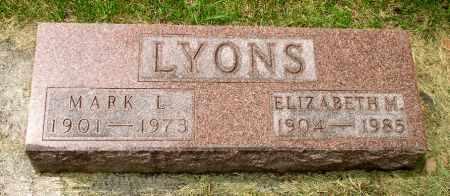 LYONS, MARK L. - Black Hawk County, Iowa   MARK L. LYONS