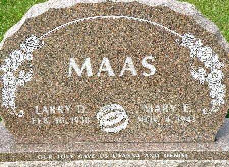 MAAS, LARRY D. - Black Hawk County, Iowa | LARRY D. MAAS