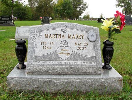 MABRY, MARTHA - Black Hawk County, Iowa | MARTHA MABRY