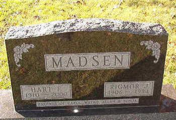 MADSEN, RIGMOR J. - Black Hawk County, Iowa | RIGMOR J. MADSEN