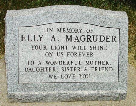 MAGRUDER, ELLY ANGELINE - Black Hawk County, Iowa | ELLY ANGELINE MAGRUDER