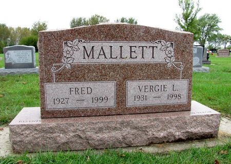 MALLETT, FRED - Black Hawk County, Iowa   FRED MALLETT