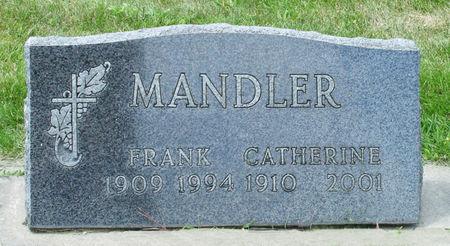 MANDLER, CATHERINE - Black Hawk County, Iowa | CATHERINE MANDLER