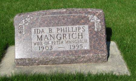 MANGRICH, IDA B. - Black Hawk County, Iowa | IDA B. MANGRICH