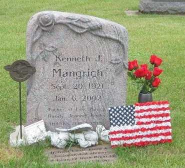 MANGRICH, KENNETH J. - Black Hawk County, Iowa | KENNETH J. MANGRICH