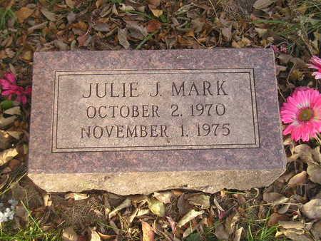 MARK, JULIE J - Black Hawk County, Iowa   JULIE J MARK