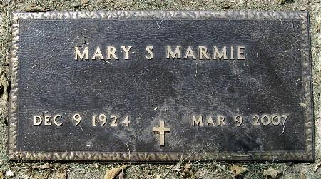 MARMIE, MARY S. - Black Hawk County, Iowa   MARY S. MARMIE