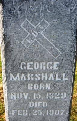 MARSHALL, GEORGE - Black Hawk County, Iowa   GEORGE MARSHALL