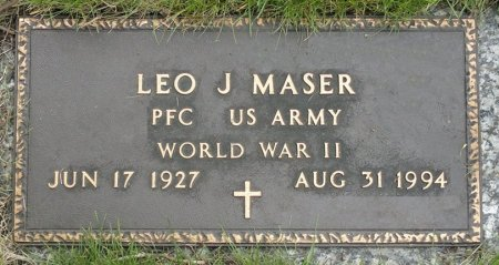 MASER, LEO J. - Black Hawk County, Iowa | LEO J. MASER