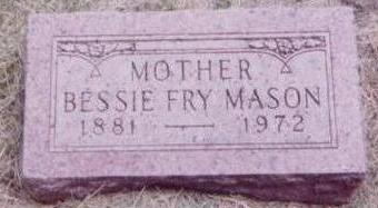 MASON, BESSIE - Black Hawk County, Iowa | BESSIE MASON