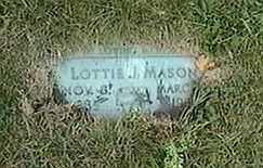 MASON, LOTTIE J. - Black Hawk County, Iowa   LOTTIE J. MASON