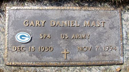 MAST, GARY DANIEL - Black Hawk County, Iowa | GARY DANIEL MAST