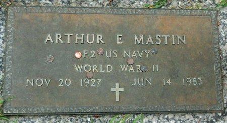 MASTIN, ARTHUR E. - Black Hawk County, Iowa   ARTHUR E. MASTIN