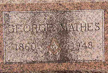 MATHES, GEORGE - Black Hawk County, Iowa | GEORGE MATHES