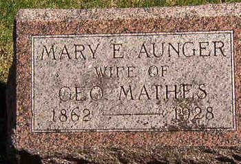 MATHES, MARY E. - Black Hawk County, Iowa | MARY E. MATHES