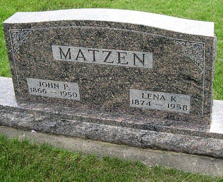 MATZEN, JOHN P. - Black Hawk County, Iowa | JOHN P. MATZEN
