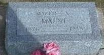 MILLER MAUST, MAGGIE - Black Hawk County, Iowa | MAGGIE MILLER MAUST