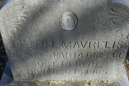 MAVRELIS, PETER L. - Black Hawk County, Iowa | PETER L. MAVRELIS