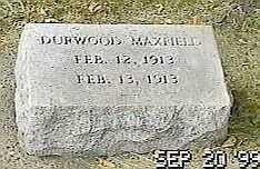 MAXFIELD, DURWOOD - Black Hawk County, Iowa | DURWOOD MAXFIELD