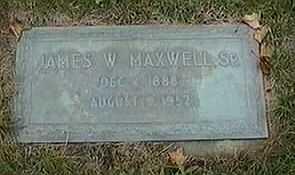 MAXWELL, SR., JAMES W. - Black Hawk County, Iowa | JAMES W. MAXWELL, SR.