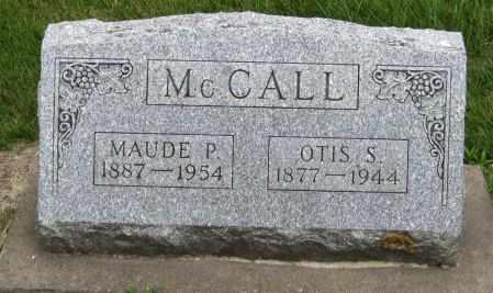 MCCALL, MAUDE P. - Black Hawk County, Iowa | MAUDE P. MCCALL