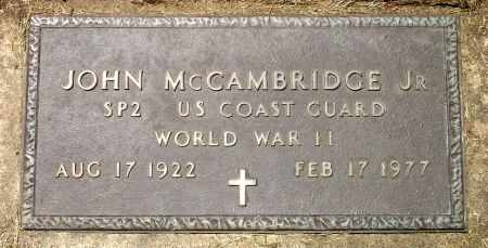 MCCAMBRIDGE, JR., JOHN - Black Hawk County, Iowa   JOHN MCCAMBRIDGE, JR.