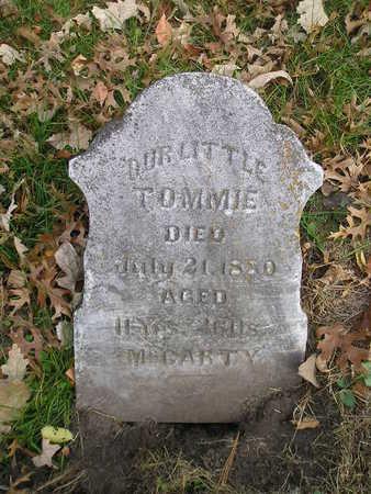 MCCARTY, TOMMIE - Black Hawk County, Iowa | TOMMIE MCCARTY