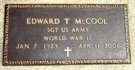 MCCOOL, EDWARD T. - Black Hawk County, Iowa | EDWARD T. MCCOOL