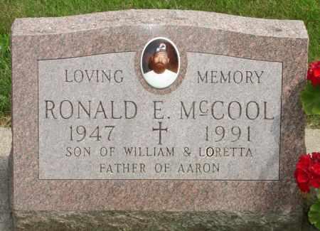 MCCOOL, RONALD E. - Black Hawk County, Iowa | RONALD E. MCCOOL
