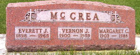 MCCREA, EVERETT J. - Black Hawk County, Iowa | EVERETT J. MCCREA
