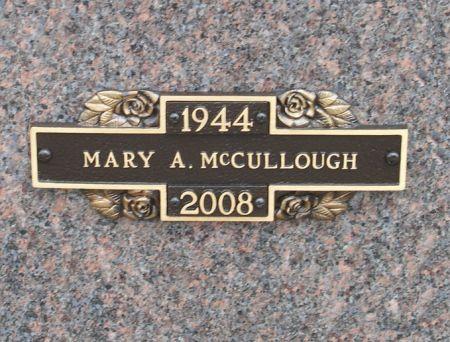 MEXDORF MCCULLOUGH, MARY ANNE - Black Hawk County, Iowa   MARY ANNE MEXDORF MCCULLOUGH