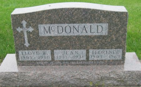 MCDONALD, LLOYD W. - Black Hawk County, Iowa | LLOYD W. MCDONALD