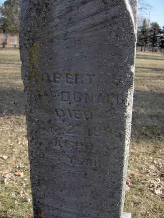 MCDONALD, ROBERT - Black Hawk County, Iowa | ROBERT MCDONALD