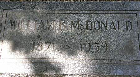 MCDONALD, WILLIAM B. - Black Hawk County, Iowa | WILLIAM B. MCDONALD