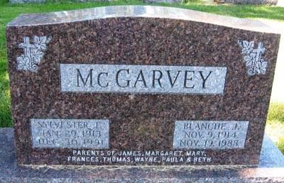 MCGARVEY, SYLVESTER F. - Black Hawk County, Iowa | SYLVESTER F. MCGARVEY